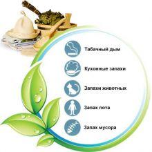 Устранение неприятных запахов в банях (саунах)