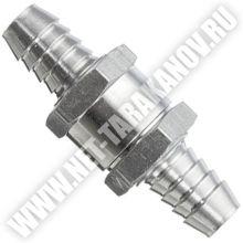 Обратный клапан алюминиевый, ∅ 12 мм.