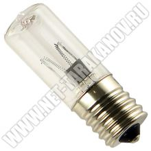 Ультрафиолетовая лампа без озона, E17, 12 вольт, 3 Вт.